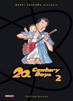 Couverture 20th Century Boys - Deluxe, tome 2