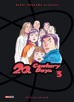 Couverture 20th Century Boys - Deluxe, tome 3