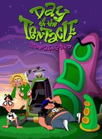 Jaquette Day of the Tentacle Remastered