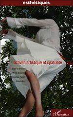 Couverture Activité artistique et spatialité