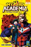 Couverture My Hero Academia, tome 1