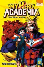 Couverture Izuku Midoriya : Les Origines - My Hero Academia, tome 1