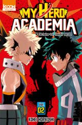 Couverture My Hero Academia, tome 2