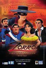 Affiche Les Chroniques de Zorro