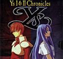 Jaquette Ys I & II Chronicles