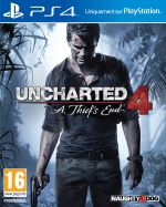 Jaquette Uncharted 4 : A Thief's End