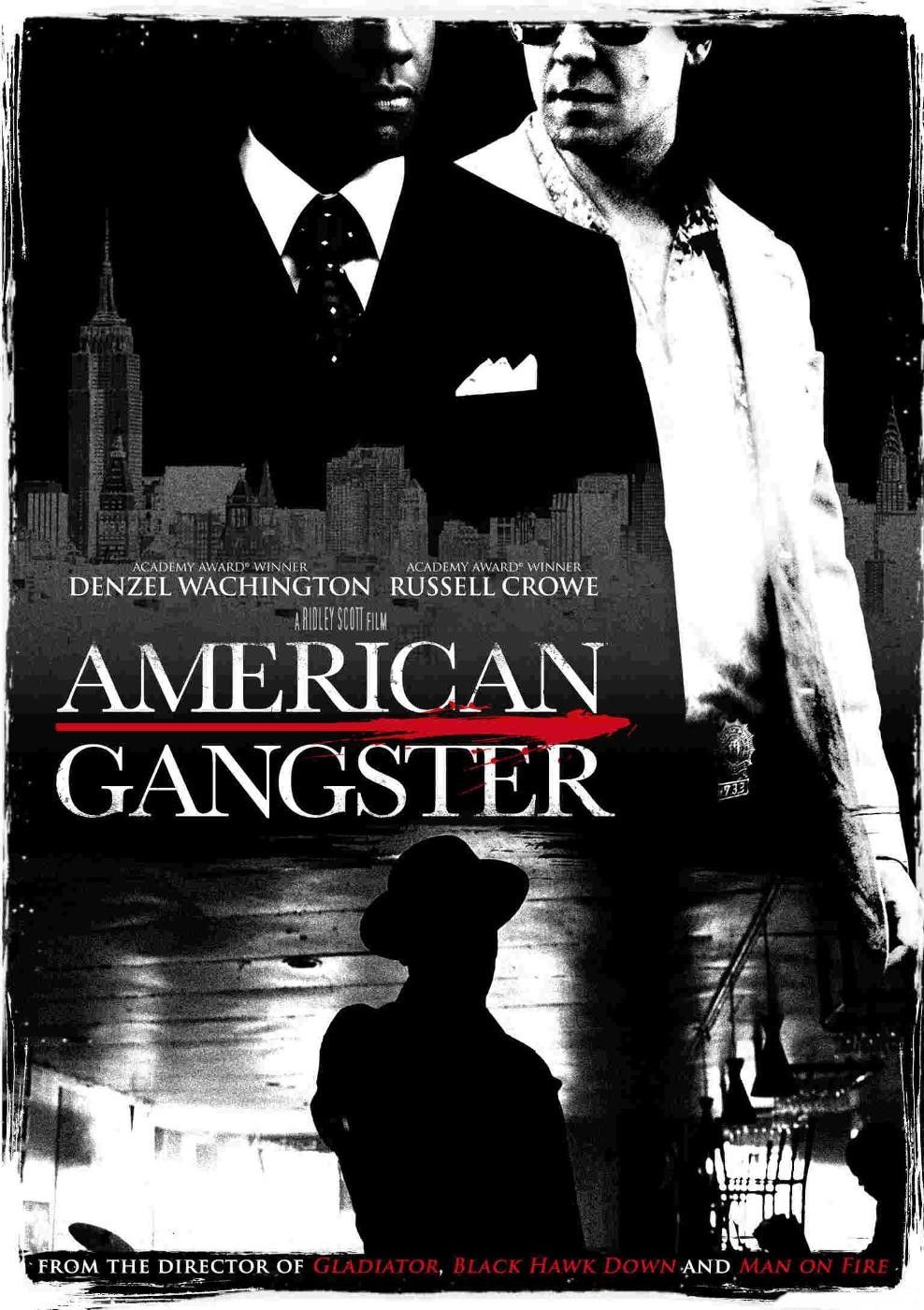 affiches posters et images de american gangster 2007. Black Bedroom Furniture Sets. Home Design Ideas