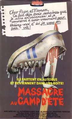 Affiche Massacre au camp d'été