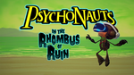Jaquette Psychonauts in the Rhombus of Ruin