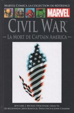 Couverture Civil War : La Mort de Captain America