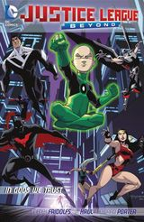 Couverture Justice League Beyond : In Gods We Trust