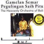 Pochette The Heavenly Orchestra of Bali