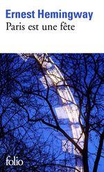 Couverture Paris est une fête