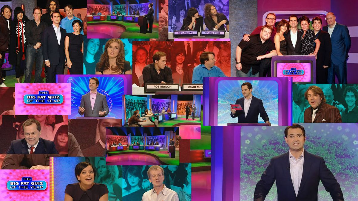 big fat quiz of the year noel fielding russell brand