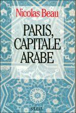 Couverture Paris capitale arabe