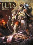 Couverture La Reine des Sylvains - Elfes, tome 12