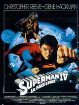 Affiche Superman IV