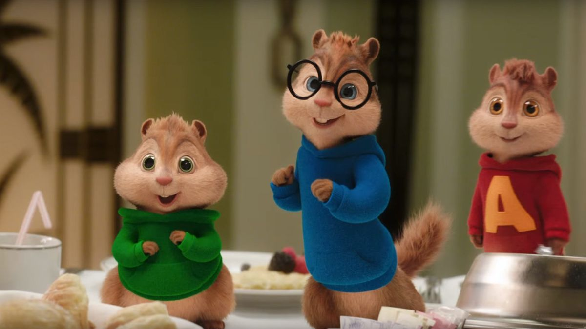 Alvin And The Chipmunks Theodore And Eleanor Wallpaper Alvin et les Chipmunks...