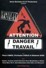 Affiche Attention danger travail