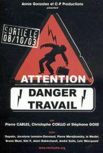 Affiche Attention danger travail