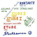 Pochette Elektronische Musik 1952-1960