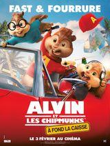 Affiche Alvin et les Chipmunks : À fond la caisse