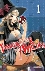 Couverture Yamada-kun and the 7 Witches
