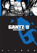 Couverture Gantz, tome 15