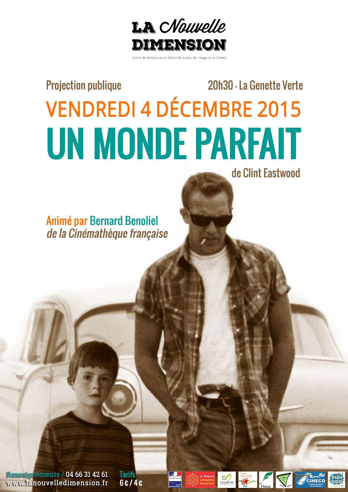 Affiches Posters Et Images De Un Monde Parfait 1993 Senscritique