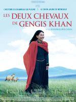 Affiche Les Deux chevaux de Gengis Khan