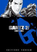 Couverture Gantz, tome 21