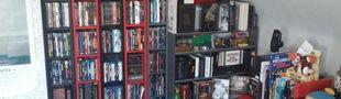 Cover Des étagères, des films et un peu de cinéma