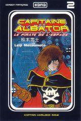 Couverture Capitaine Albator, tome 2