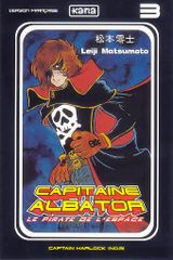 Couverture Capitaine Albator, tome 3