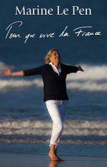 Couverture Pour que vive la France