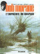 Couverture Bob Morane- L'empreinte du crapaud