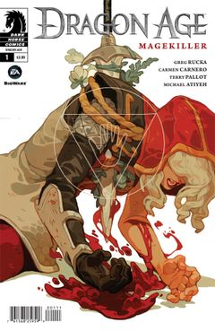 Couverture Dragon Age: Magekiller (2015 - 2016)