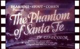 Affiche Phantom of Santa Fe