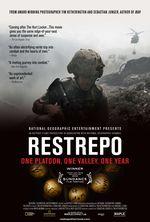Affiche Restrepo - Être soldat en Afghanistan