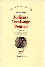 Couverture Audience - Vernissage - Pétition