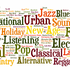 Illustration 1387 genres musicaux à écouter, et sur une seule page !