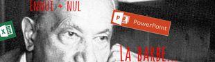Cover Les séries que je regarde en 2016, coincée entre deux tableaux Excel et un PowerPoint, rêvant de retrouver Heidegger, Ibsen et Boris Vian...