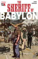 Couverture Bang. Bang. Bang. - The Sheriff of Babylon, tome 1