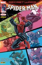 Couverture Secret Wars : Spider-Man - Pourquoi la vie est-elle si dure ? (#1)