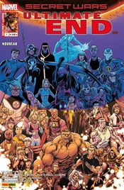Couverture Rupture - Secret Wars : Ultimate End, tome 1