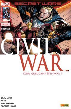 Couverture Pourparlers - Secret Wars : Civil War, tome 1