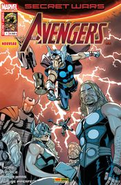 Couverture Les Experts - Secret Wars : Avengers, tome 1