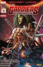 Couverture Nulle part ailleurs - Secret Wars : Les Gardiens de la Galaxie, tome 1