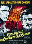 Affiche Règlements de comptes à O.K. Corral
