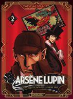 Couverture Contre Herlock Sholmes : La lampe juive - Arsène Lupin : L'Aventurier, tome 2